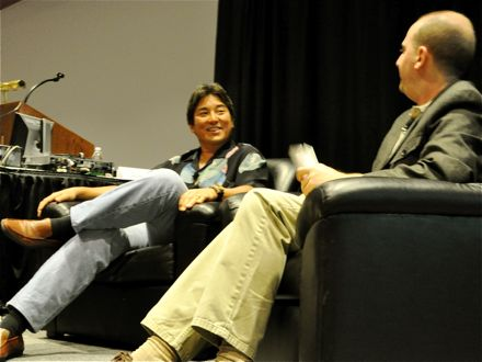 Guy Kawasaki at Blog World Expo 2008